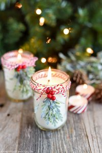 christmas gift ideas mason jars candles ideas