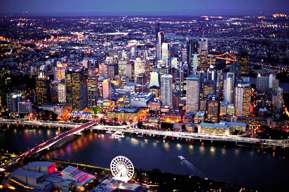 Brisbane-CBD-Twilight