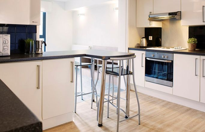 Chapter-Highbury-London-En-suite-Kitchen-Unilodgers