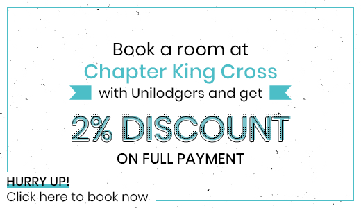 2-percent-discount-Chapter-Kings-Cross-London-Unilodgers