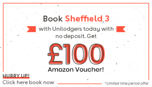 Sheffield 3 Student Accommodation Offer